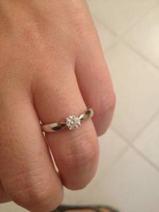 Lost items Ring New York - Lost Engagement Ring - $500 reward (Chelsea)